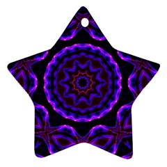 (16) Star Ornament (two Sides)
