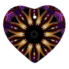 Smoke Art (17) Heart Ornament