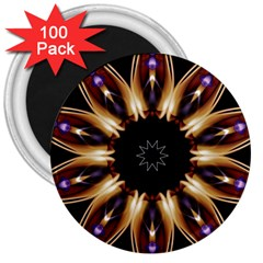 Smoke Art (17) 3  Button Magnet (100 Pack)