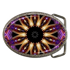 Smoke Art (17) Belt Buckle (oval)