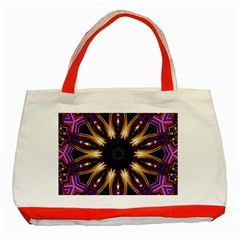 Smoke art (17) Classic Tote Bag (Red)