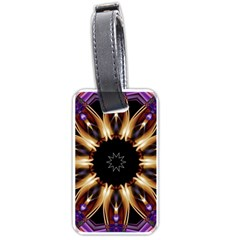 Smoke Art (17) Luggage Tag (two Sides)