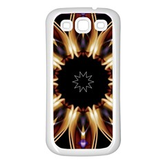 Smoke art (17) Samsung Galaxy S3 Back Case (White)