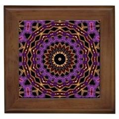 Smoke Art (18) Framed Ceramic Tile