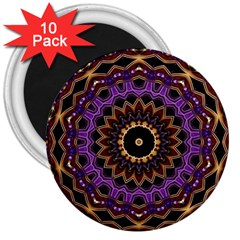 Smoke art (18) 3  Button Magnet (10 pack)