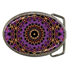 Smoke Art (18) Belt Buckle (oval)