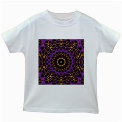 Smoke art (18) Kids' T-shirt (White)