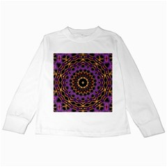 Smoke art (18) Kids Long Sleeve T-Shirt
