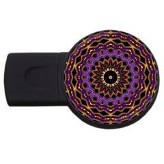Smoke art (18) 4GB USB Flash Drive (Round)