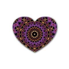 Smoke art (18) Drink Coasters (Heart)