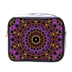 Smoke Art (18) Mini Travel Toiletry Bag (one Side)