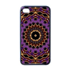 Smoke art (18) Apple iPhone 4 Case (Black)