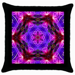 Smoke art (19) Black Throw Pillow Case