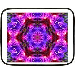 Smoke art (19) Mini Fleece Blanket (Two-sided)