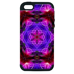 Smoke Art (19) Apple Iphone 5 Hardshell Case (pc+silicone)