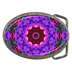 Smoke art (20) Belt Buckle (Oval)