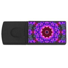 Smoke art (20) 2GB USB Flash Drive (Rectangle)