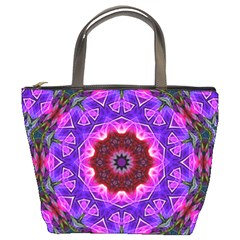 Smoke art (20) Bucket Bag