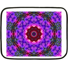 Smoke Art (20) Mini Fleece Blanket (two Sided)