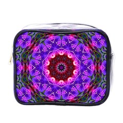Smoke Art (20) Mini Travel Toiletry Bag (one Side)