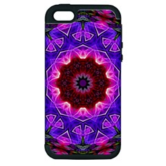 Smoke art (20) Apple iPhone 5 Hardshell Case (PC+Silicone)