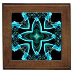 Smoke art (21) Framed Ceramic Tile