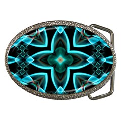Smoke art (21) Belt Buckle (Oval)