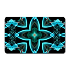 Smoke art (21) Magnet (Rectangular)
