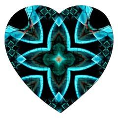 Smoke art (21) Jigsaw Puzzle (Heart)