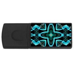 Smoke art (21) 4GB USB Flash Drive (Rectangle)