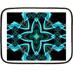 Smoke Art (21) Mini Fleece Blanket (two Sided)