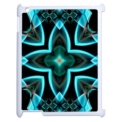 Smoke art (21) Apple iPad 2 Case (White)