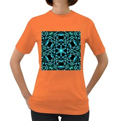 Smoke art (22) Womens' T-shirt (Colored)