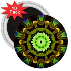 Smoke Art (23) 3  Button Magnet (10 Pack)