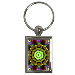 Smoke art (23) Key Chain (Rectangle)