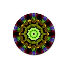 Smoke art (23) Drink Coasters 4 Pack (Round)