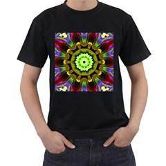 Smoke art (23) Mens' Two Sided T-shirt (Black)