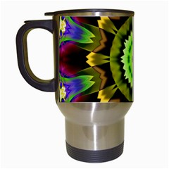 Smoke art (23) Travel Mug (White)