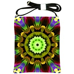 Smoke Art (23) Shoulder Sling Bag