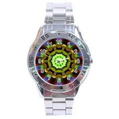 Smoke art (23) Stainless Steel Watch (Men s)