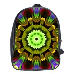 Smoke Art (23) School Bag (xl)