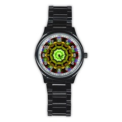 Smoke Art (23) Sport Metal Watch (black)