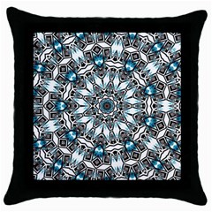Smoke Art (24) Black Throw Pillow Case