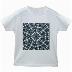 Smoke Art (24) Kids' T Shirt (white)