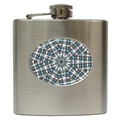 Smoke art (24) Hip Flask