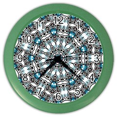 Smoke Art (24) Wall Clock (color)