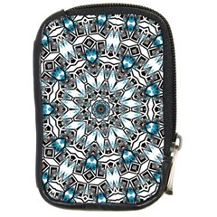 Smoke Art (24) Compact Camera Leather Case