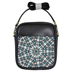 Smoke Art (24) Girl s Sling Bag