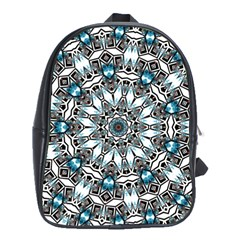 Smoke art (24) School Bag (XL)