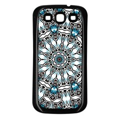 Smoke art (24) Samsung Galaxy S3 Back Case (Black)
